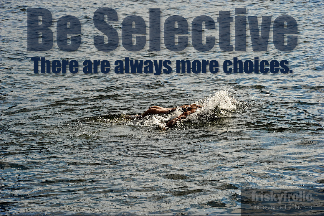 nude male swim water